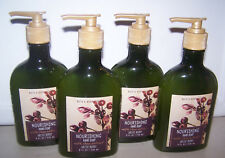4 Bath & Body Works Arctic Berry Nourishing Hand Soap with Shea Extract 8 oz eac