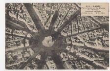 France, Paris, Panorama de la Place de 'Etoile pris en ballon Postcard, B221