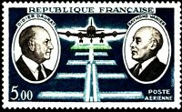 France 1971 ScC45 Mi1746 1v mnh D.Daurat&R.R.Vanier,aviation pioneers
