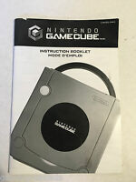 Nintendo Gamecube Console System Instruction Manual Booklet ONLY