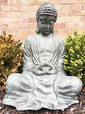 Large Outdoor Garden Meditating Buddha Aluminum Statue Inner Peace Bodhisattva