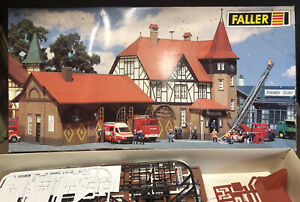 FALLER HO 991 RESCUE STATION. KIT JUST STARTED. SO MARKED AS USED