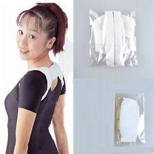sangle de Correction bande Confortable support d'épaule dos voûté blanc Unisexe