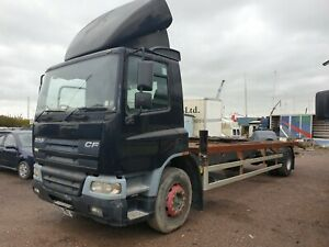 DAF CF chassis cab in good condition, suitable beavertail, horsebox, recovery
