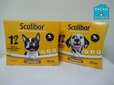 SCALIBOR¹colar perro pulgas,garrapatas,leishmaniosis 45ou65cm,duracion 12 meses
