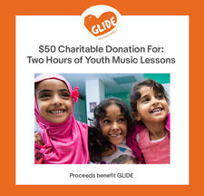 $50 Charitable Donation For: Two Hours of Youth Music Lessons
