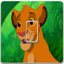 Lion King Simba Light Switch Sticker Vinyl Decal for Kids Bedroom #172
