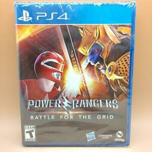 Power Rangers: Battle for the Grid (PlayStation 4) PS4 NEW SEALED