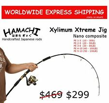 2016 Hamachi Nano Jig Xtreme  PE 2 - 5 Japanese jigging reef fishing rod pole