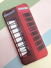 iPhone 6 UK British Red Telephone Box Phone Case Soft Protective Thin Xmas Gift
