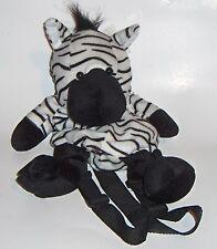 Zebra plush back pack kids/toddlers - Blue Space