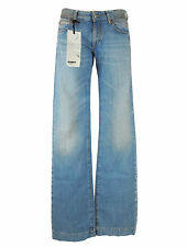 DRYKORN Bleu Jeans Femme W 28 L 34 5 poches Denim bottes coupe style Do