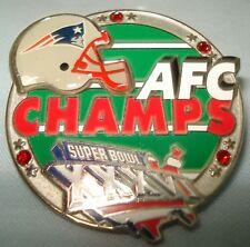 AFC Champs Patriots Pin S.B.36