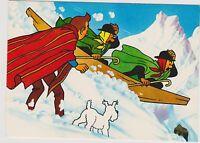 Carte Postale Tintin - Tintin et le Temple du Soleil n°14 - Ed. YVON