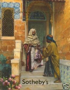 Sotheby's catalogue  Collection of Orientalist  Art 2009  HB
