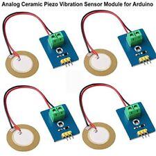 4pcs Analog Ceramic Piezo Vibration Sensor Module 33v5v For Arduino Diy Kit
