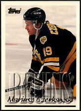 Mariusz Czerkawski #153 Boston Bruins Topps 1995-6 Ice Hockey Card (C531)