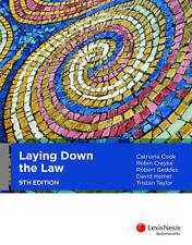 Laying Down the Law, 9th Edition (9th Ed.)  by Creyke, Geddes, Cook & Hamer