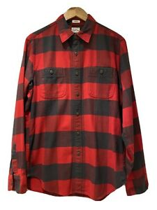 Mens J. Crew Checked Red Shirt Size Medium