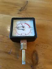 Square pressure gauge