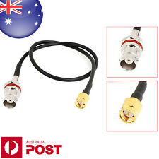 """SMA Male Plug to BNC Female Jack Network Antenna Pigtail Cable 13.3"""" - Z606"""