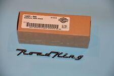 Harley Roadking  Road King NEW OEM Front Fender Emblem Medallion Nameplate