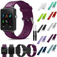 Sports Silicone Fitness Replacement Band Soft Wrist Strap For Vivoactive Acetate
