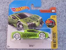 Hot Wheels 2017 # 135/365 zotic Verde HW Arte Cars NUEVO Fundición