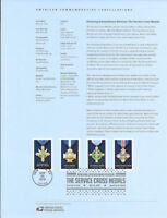 #1616 (47c) Forever Extraordinary Heroism:(4) Stamps #5065-#5068  Souvenir Page