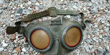 Lunettes pour soldat allemand / fabrication terrain à partir d'un masque à gaz /