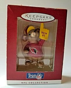 Arizona Cardinals Hallmark Ornament 1996 Team NFL We're #1