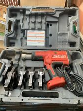 Ridgid Propress Rp 330 Corded 5 Jawswith 2 Batteries And Charger