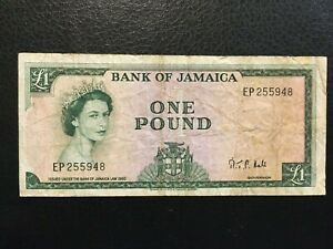 JAMAICA  1 Pound  1960 (1964)