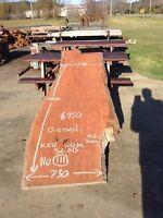 Redgum Slab No.111 Hardwood Timber
