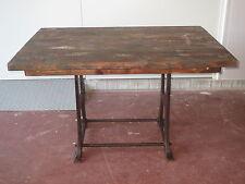 alter Tisch, Schreibtisch Industriedesign,Werkstatttisch Loft, shabby, Industrie