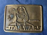 Star Wars Darth Vader Belt Buckle #960T Vintage 1977