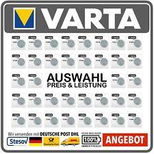 Varta Watch V301 - V399 Silver Oxide Button Batteries Fachhandelsware