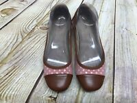 GH Bass Size 8.5M Ballet Flats Slip On Shoes Women's Leather Suede Comfort GUC