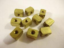"Clippard Minimatic ""X"" Couplers, # 15002-5, 10 pcs, Rectangular, Solid Brass."
