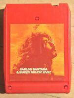 Santana & Buddy Miles Live INCREDIBLE psych funk 8-Track