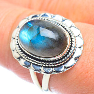 Labradorite 925 Sterling Silver Ring Size 9 Ana Co Jewelry R57650F