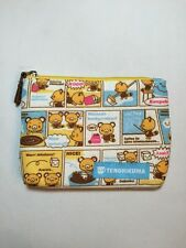 2005 Sanrio Tenorikuma Coin Purse Cosmetic Make Up Bag New Without Tag