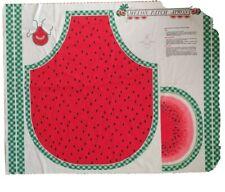 "Watermelon Apron Pattern Craft Project Fabric ""Melon Patch Apron"""