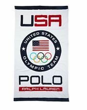 LIMITED EDITION POLO RALPH LAUREN TEAM USA 2016 RIO OLYMPIC BEACH TOWEL.