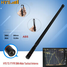 Tactical SMA-Male Dual Band 2Meter 70cm Antenna For Yaesu Vertex TYT 2-way Radio