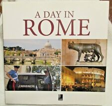 A Day in Rome  with 4 CD Set 2007 ISBN 9783937406947 HC/DJ Coffee Table Size