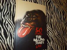 Rolling Stones 50 and Counting Tour VIP Picture Hardcover Book