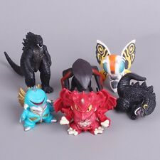 6pcs Moive Film Godzilla Monsters MUTO Mothra Gigan Destoroyah 4-7cm PVC Figure