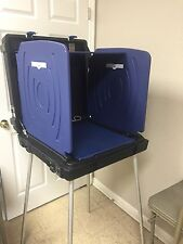 VOTING ELECTION BOOTH Box Station Portable Movie Prop ESS - From Last Election