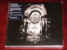 T.O.M.B.: Fury Nocturnus CD 2016 Peaceville Records UK CDVILEF629 Digipak NEW